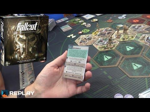 Fallout: The Board Game - Gen Con 2017 Demo
