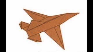 Origami - bandit jet (tutorial)
