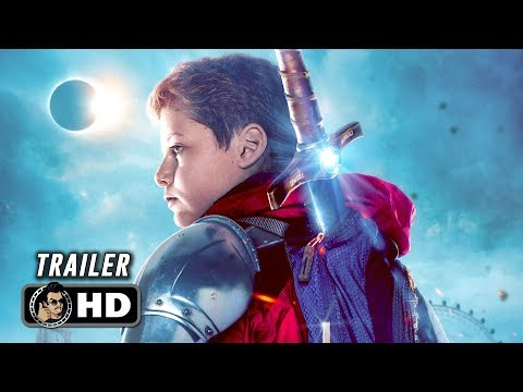 THE KID WHO WOULD BE KING Trailer (2019) Patrick Stewart Action Movie