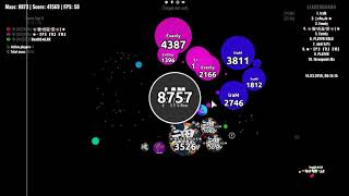 Agar.io | Tournament Highlight's
