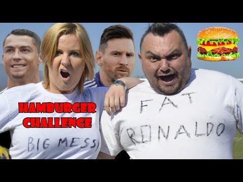 Fat Ronaldo vs Big Messi PENALTY CHALLENGE