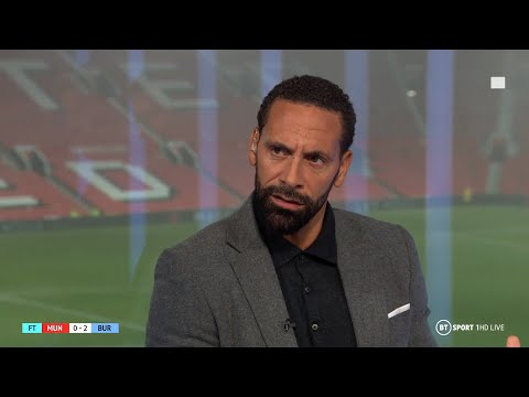 """It's embarrassing!"" Rio Ferdinand's damning analysis after Man Utd's loss to Burnley"