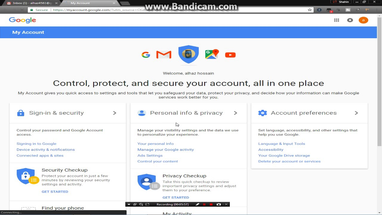 How to open a gmail account and verify 2017 - YouTube