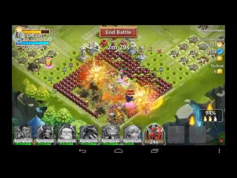 Castle Clash - Torch Battle -Estrategias