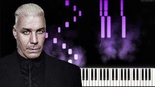 LINDEMANN - Steh auf   Piano Tutorial   Instrumental Cover