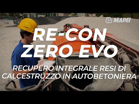 MAPEI: Tecnologia RE-CON ZERO - calcestruzzo riciclato a impatto zero