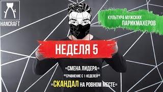 ОБУЧЕНИЕ МУЖСКИХ ПАРИКМАХЕРОВ /5 НЕДЕЛЯ / HANCRAFT_ACADEMY