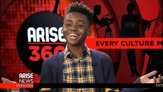 Actor, Jahil Winton and Singing Group, Replay Visit Arise360 and Yaz Quiles talks Super Bowl Parties