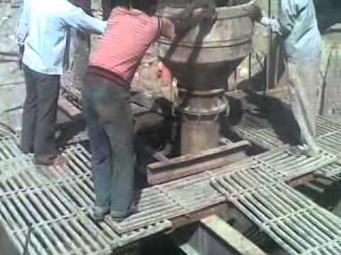 Bottom plug of foundation
