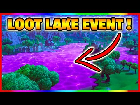 🔴 FORTNITE VOLCANO EVENT SOON?! - Loot Lake Watching!  - (Fortnite Battle Royale Cube Event)