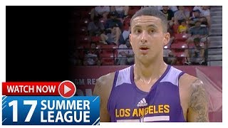 Kyle Kuzma Full Highlights vs Cavaliers (2017.07.13) Summer League - 20 Pts