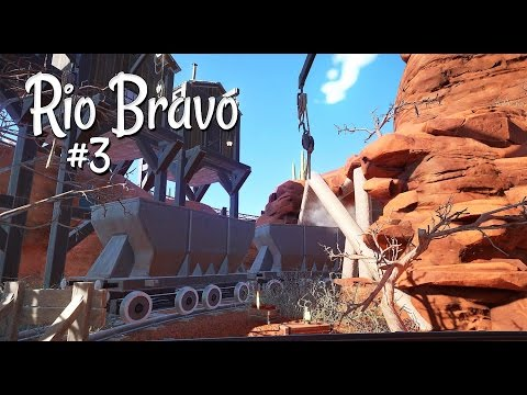 Planet Coaster (western): Rio Bravo - Ep. 3 - The Old Mine - McFly 1885 - Part 3