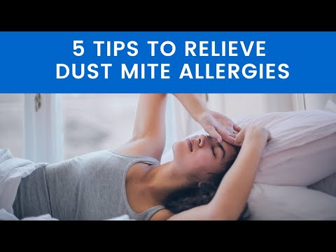 5 Tips to Relieve Dust Allergies