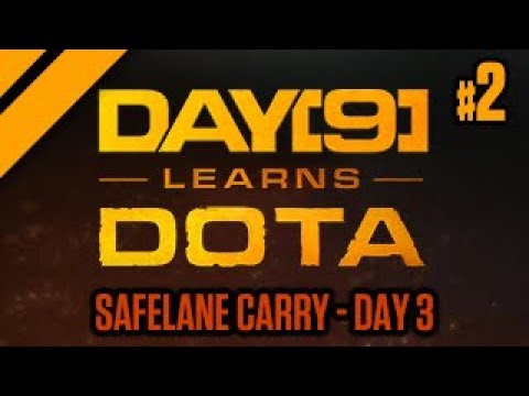 Day[9] Learns Dota - Safelane Carry Day 3 - P2