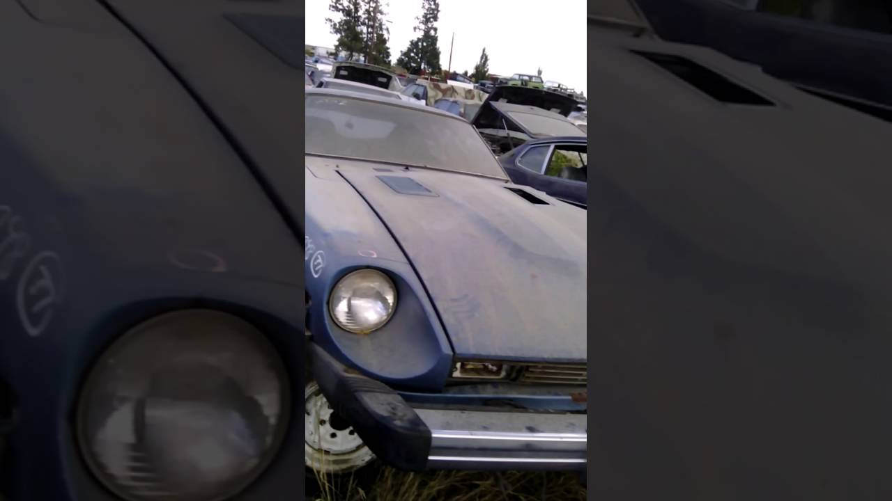 Datsun z car parts for sale 240z 260z 280z - YouTube