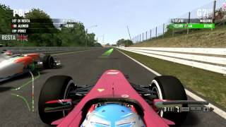 F1 2011 Gameplay Ita PC Gran Premio Del Giappone Suzuka Gara#14 -Fino all