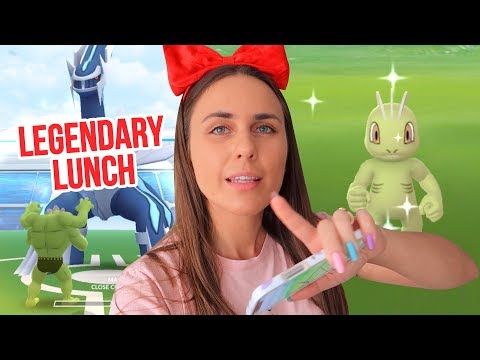 SUCCESS or FAIL? WORLD FIRST Legendary Lunch Hour Raids in Pokémon GO! thumbnail