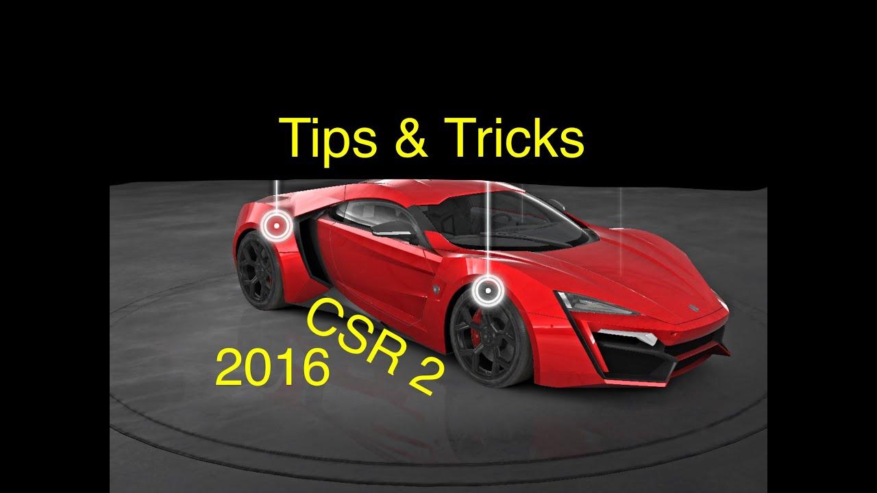 Csr 2 Tipps