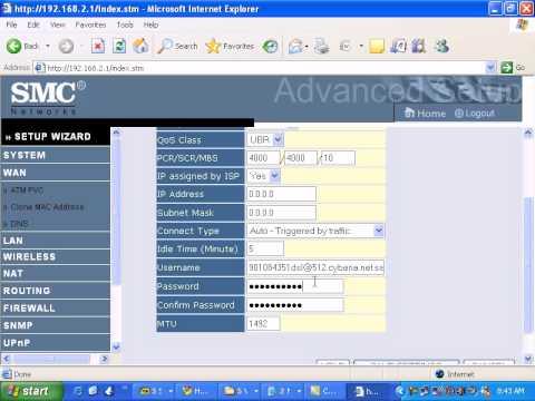 SMC Networks 7904wbra2 WAN.avi