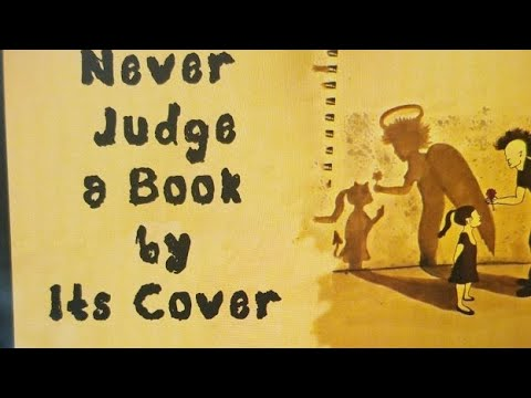 never judge a book by its cover story
