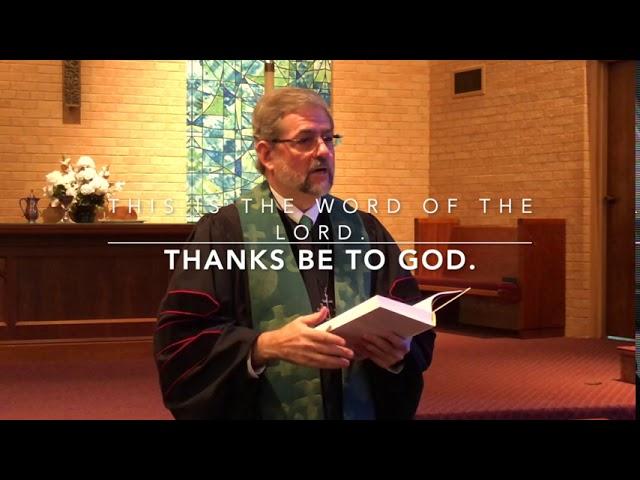 Worship August 9, 2020