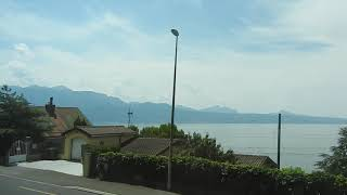 2018.07.14.12:45  Vevey SBB(Lake Geneva)