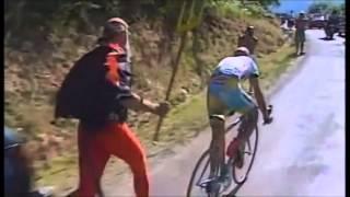 Plateau de Beille 1998 - Pantani spaventa Ullrich