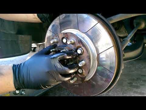 repacking 99 nissan pathfinder front wheel bearing