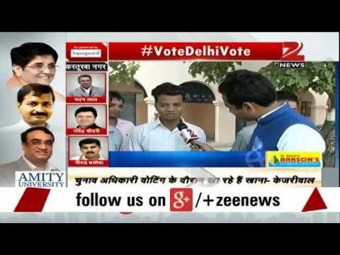 Delhi polls: Visually challenged voters cast their votes