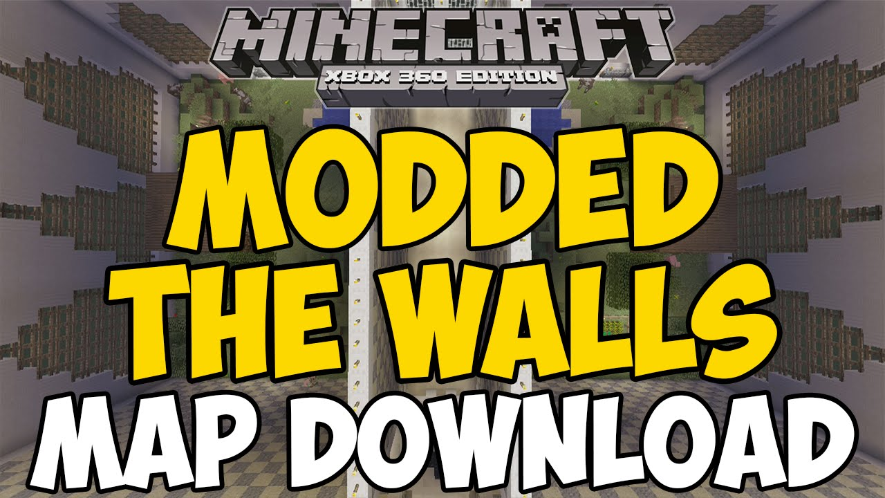Minecraft Xbox 360/One: MODDED THE WALLS map Download! - YouTube