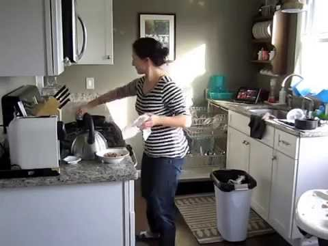 A Clean Kitchen In 4 Minutes! - YouTube