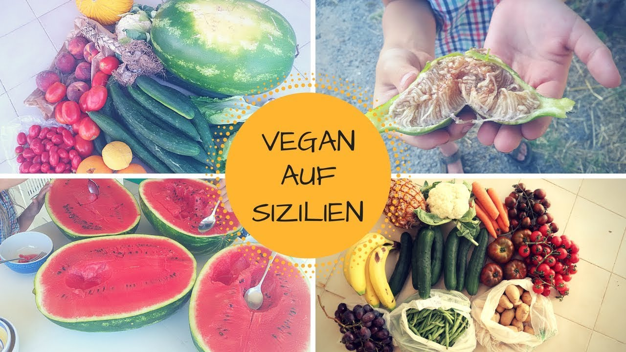 Kann man sich auf Sizilien gut vegan und rohköstlich ernähren? + Perma Kultur