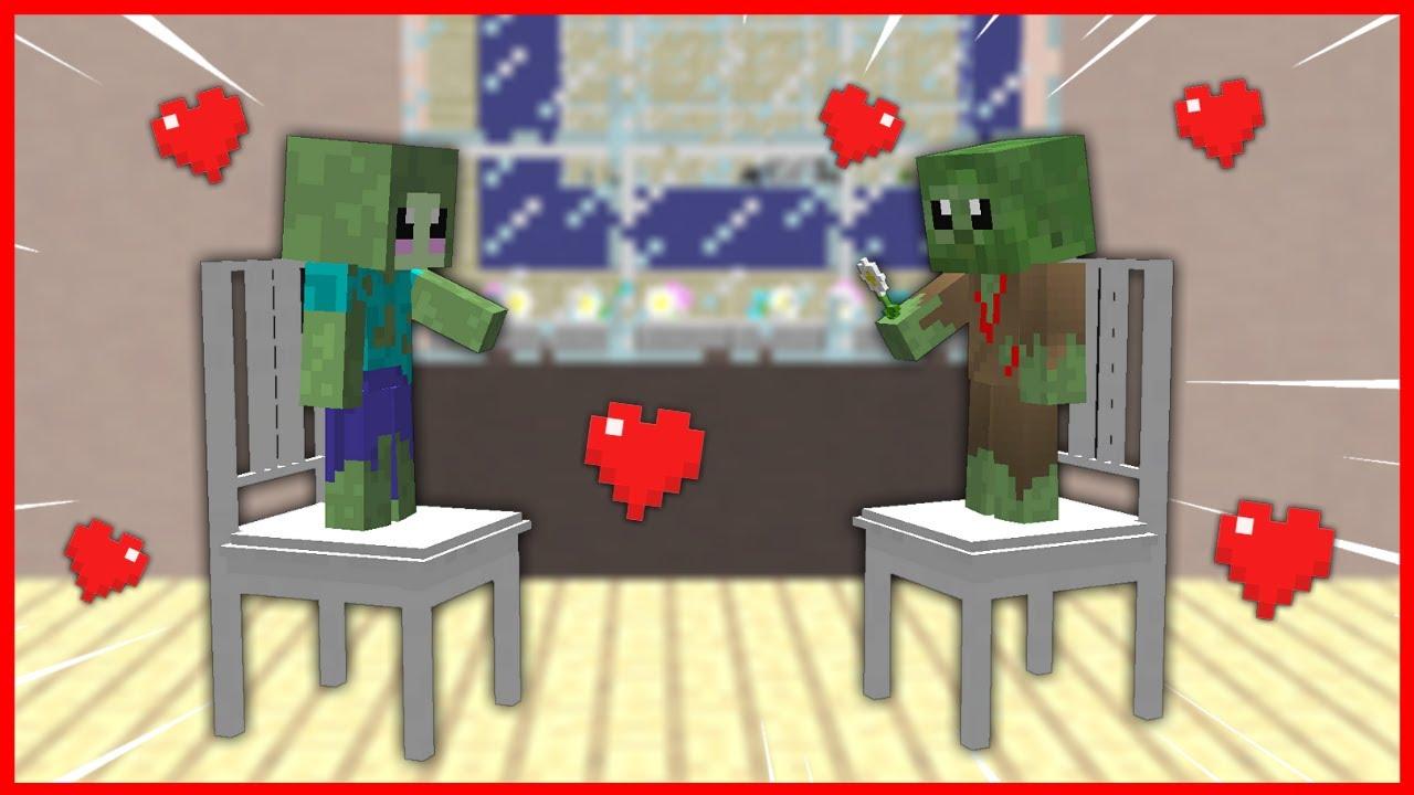 FAKİR ZOMBİ AŞIK OLDU! 😍 - Minecraft