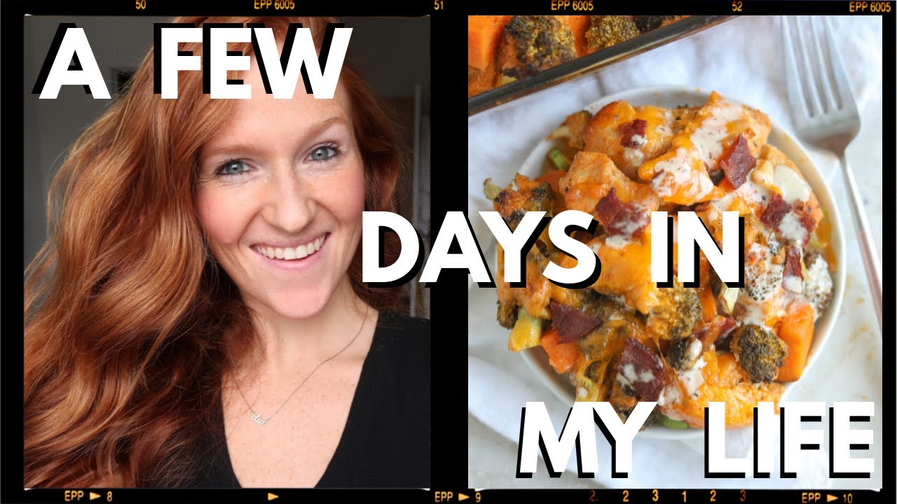 A FEW DAYS IN MY LIFE | before quarantine, baking day, workouts