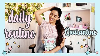 my daily routine in QUARANTINE 2020 (the BEST one yet)😊 | Meghna Verghese