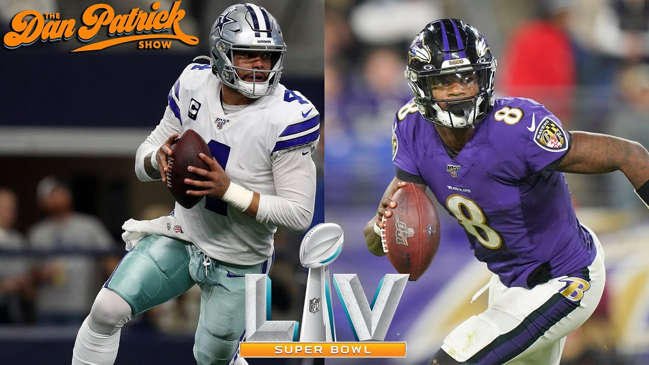 Dan Patrick S 2020 Super Bowl Picks Ravens Vs Cowboys Youtube