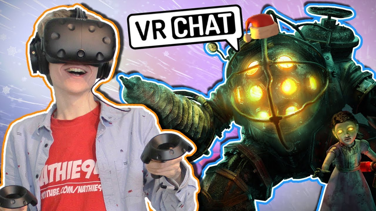 BIG DADDY STRIKES BACK!  | VRChat: Funny Moments (HTC Vive Gameplay)