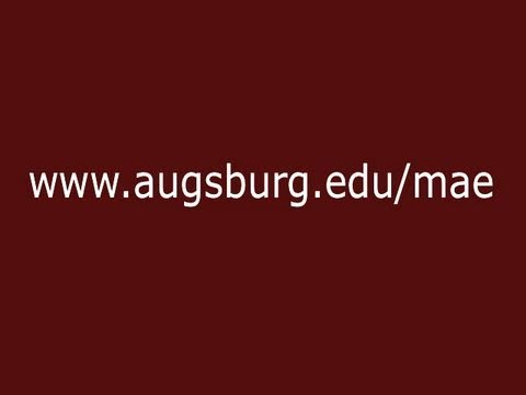 The MAE @ Augsburg College