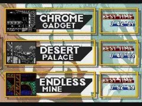 """Sonic 3k PC """"Endless Mine"""" Music """"FM Synthesizer""""- game tv1"""