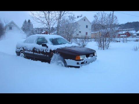 Audi 80 quattro - Deep snow