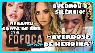 🔥Safadão chora em desabafo sobre pensão do filho; Demi Lovato é hospitalizada após sofrer overdose