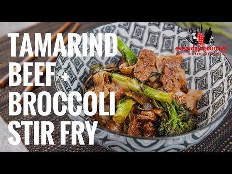 Cashew Beef with Broccoli Stir-Fry