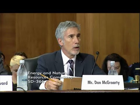 Senate Testimony on Resource Security – July 18, 2017 by Dan McGroarty