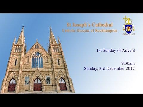 9.30am Mass, Sunday 3rd December 2017