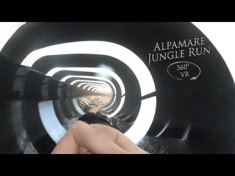 Alpamare Jungle Run (Green) 360° VR POV Onride