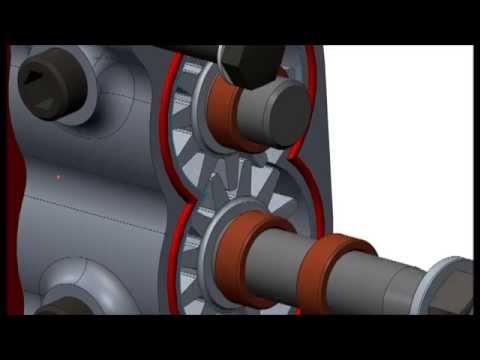 Scavenge pump (dry sump oil system)