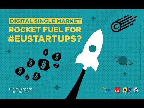 Digital Single Market: Rocket fuel for EU startups? [full event]