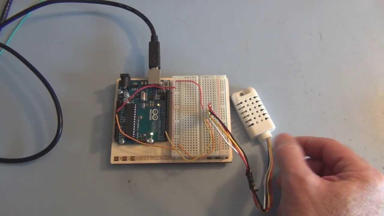 DHT11 /DHT22 Temperature Sensor - Arduino Project