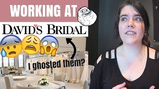 MY DAVIDS BRIDAL EXPERIENCE | STORYTIME