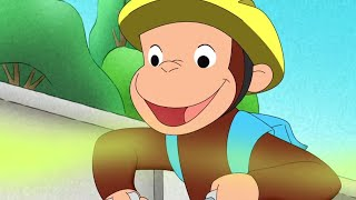 Curious George Double-O Monkey Tracks Trouble  Kids Cartoon  Kids Movies Videos for Kids